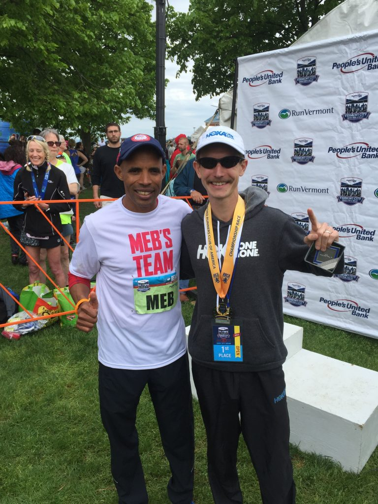 Yeah, I fan-boyed and got a picture w/ Meb.